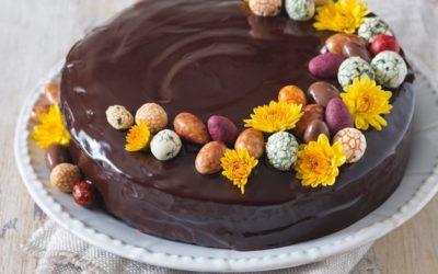 Jarná čokoládová trota